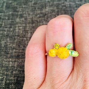 A Mimosa ring from Les Nereides.